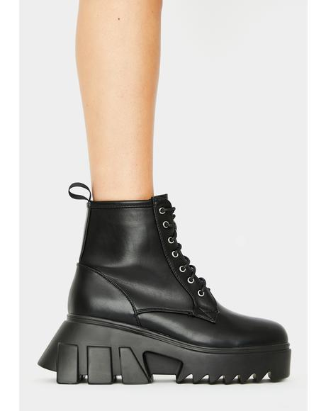 Facin' Facts Ankle Boots