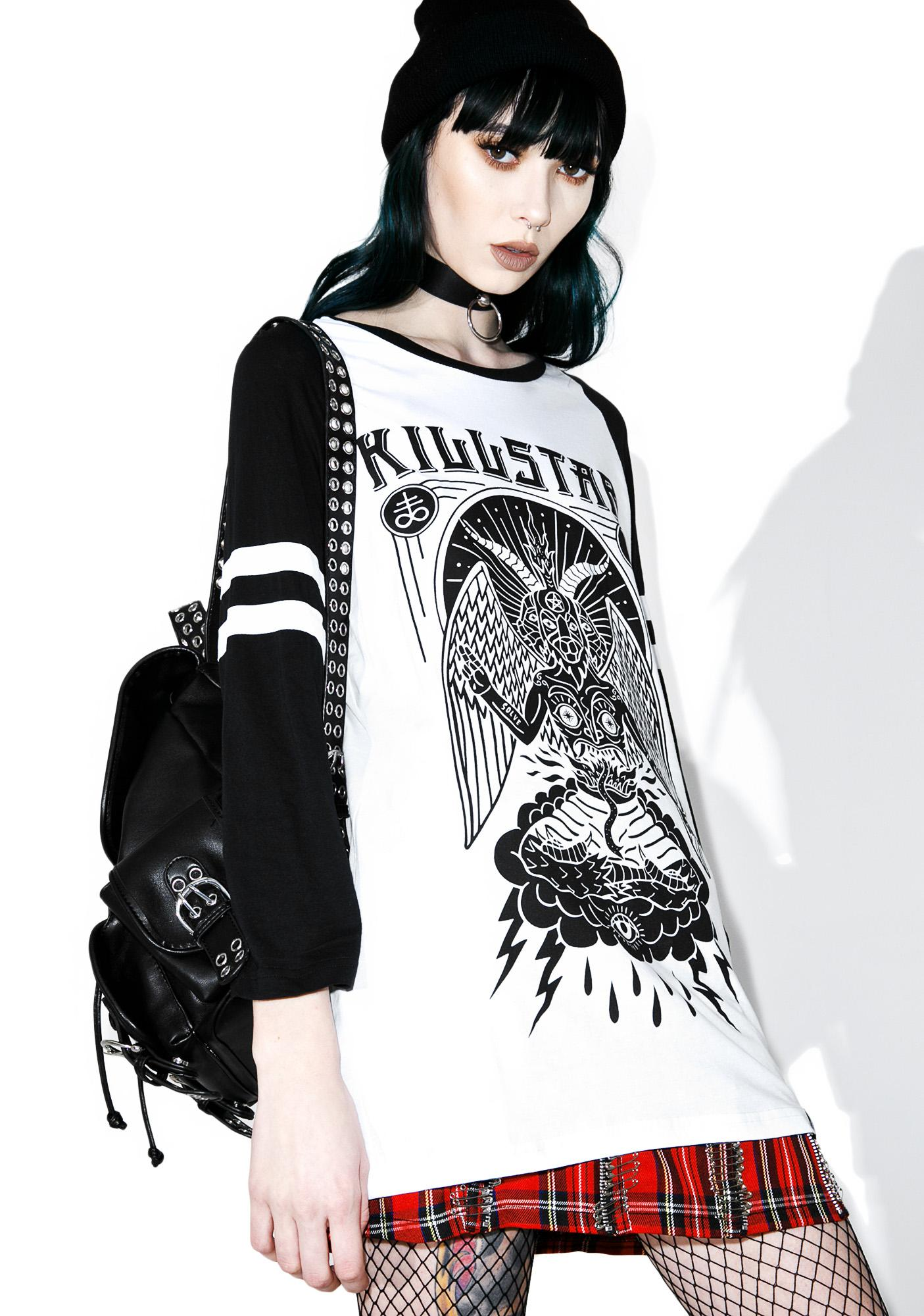 Killstar In Like Sin Raglan Top