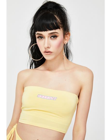 Yellow OG Boob Tube