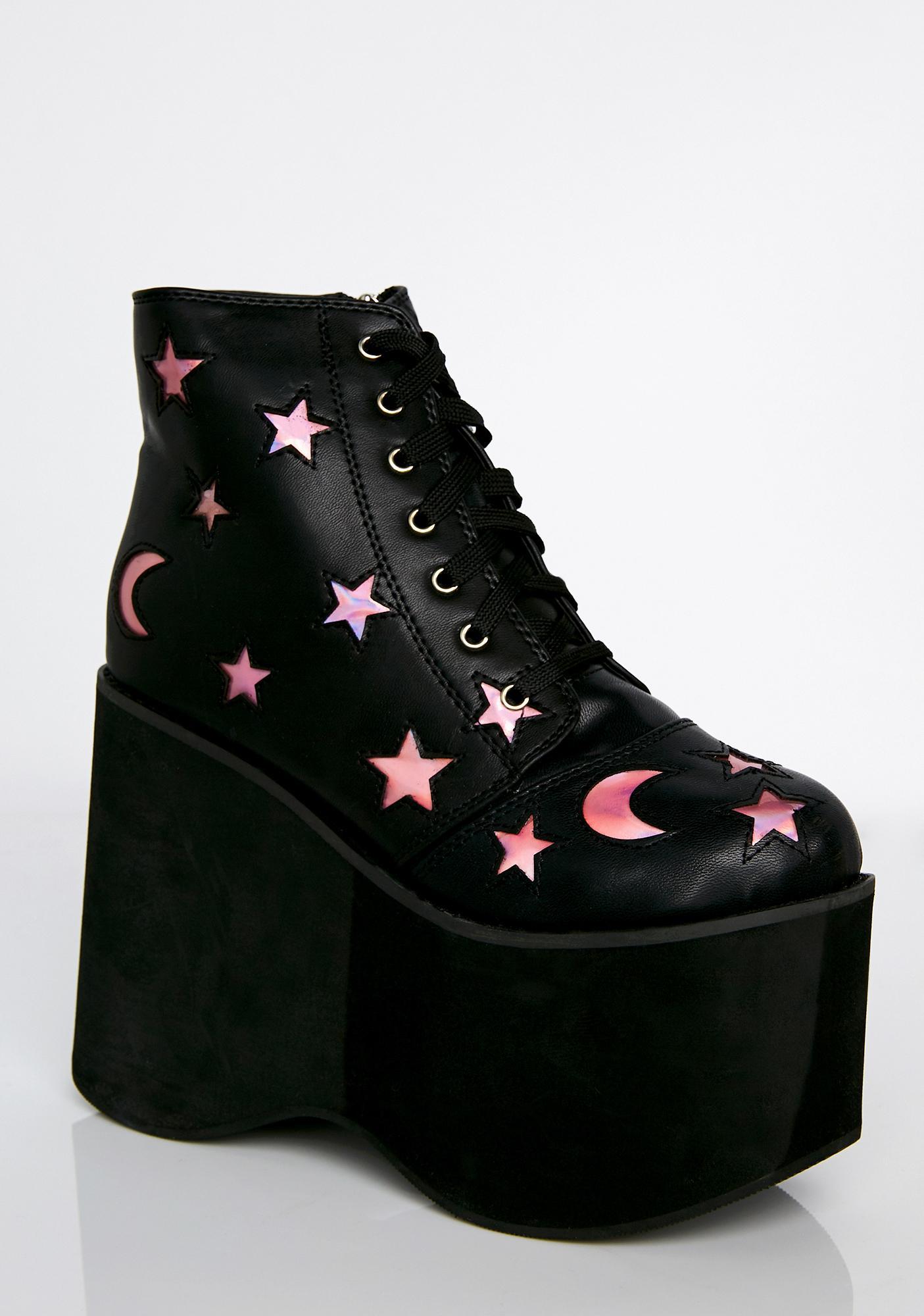 NightWalker Platform Boots