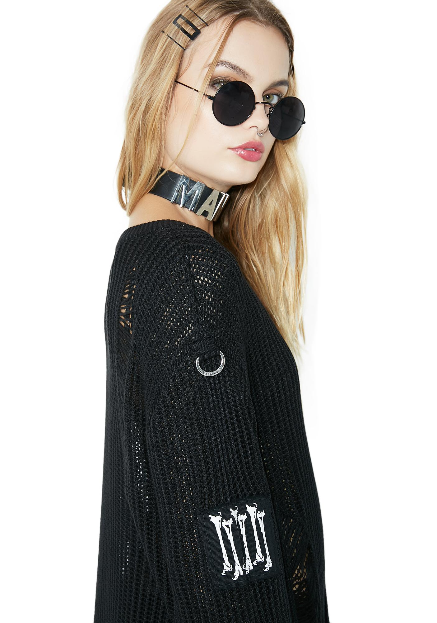 Killstar Haight You Knit Sweater