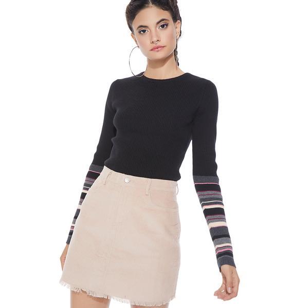 Old Habits Corduroy Skirt