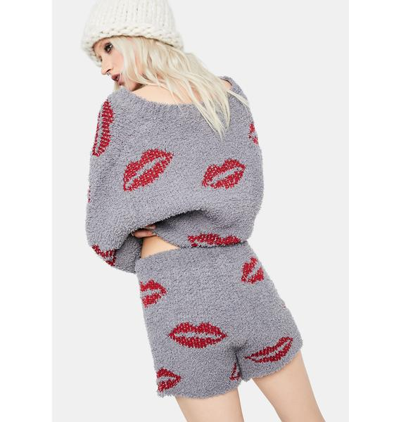 Good Kisser Fuzzy Shorts