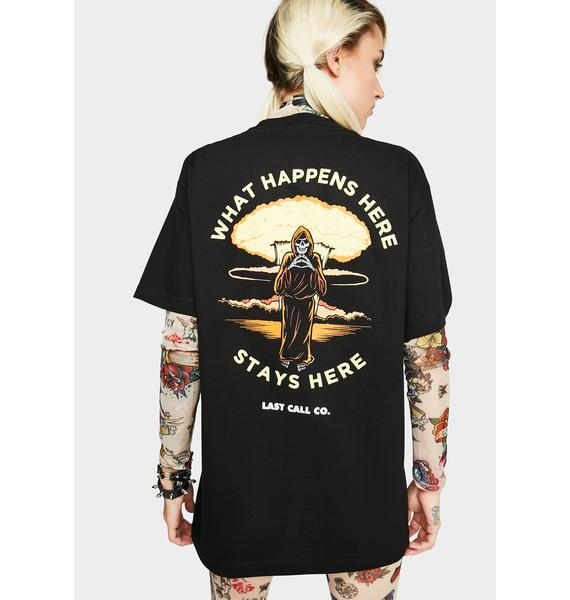 Last Call Co. Stays Here Graphic Tee