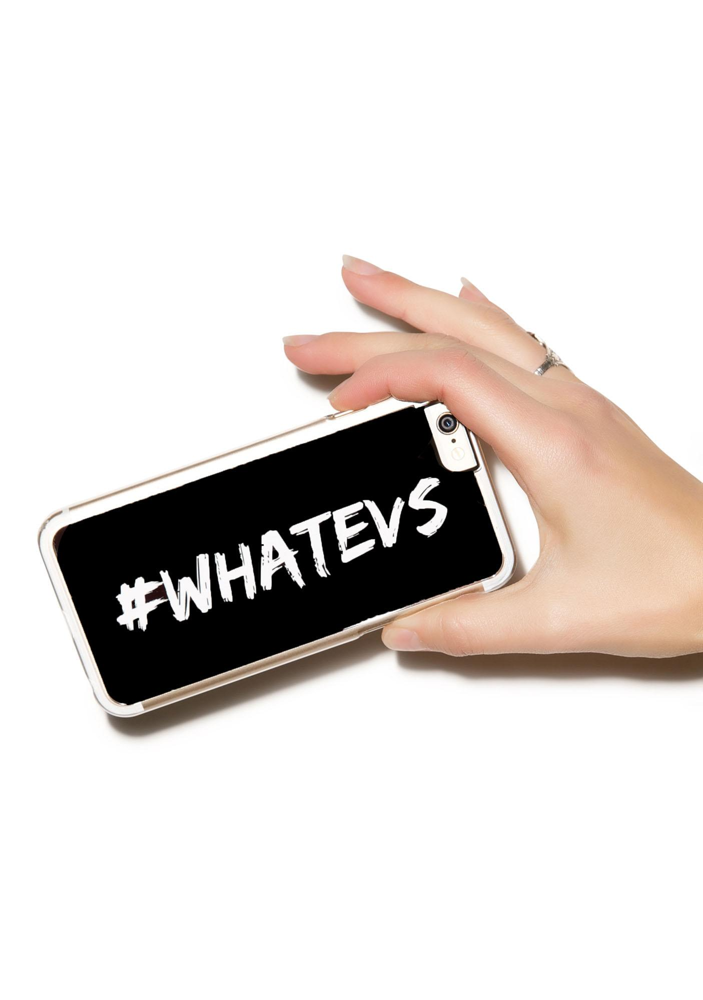 Zero Gravity #Whatevs iPhone 6 Case