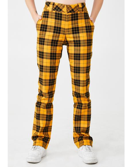 Mcleod Tartan Stretchy Twill Pants
