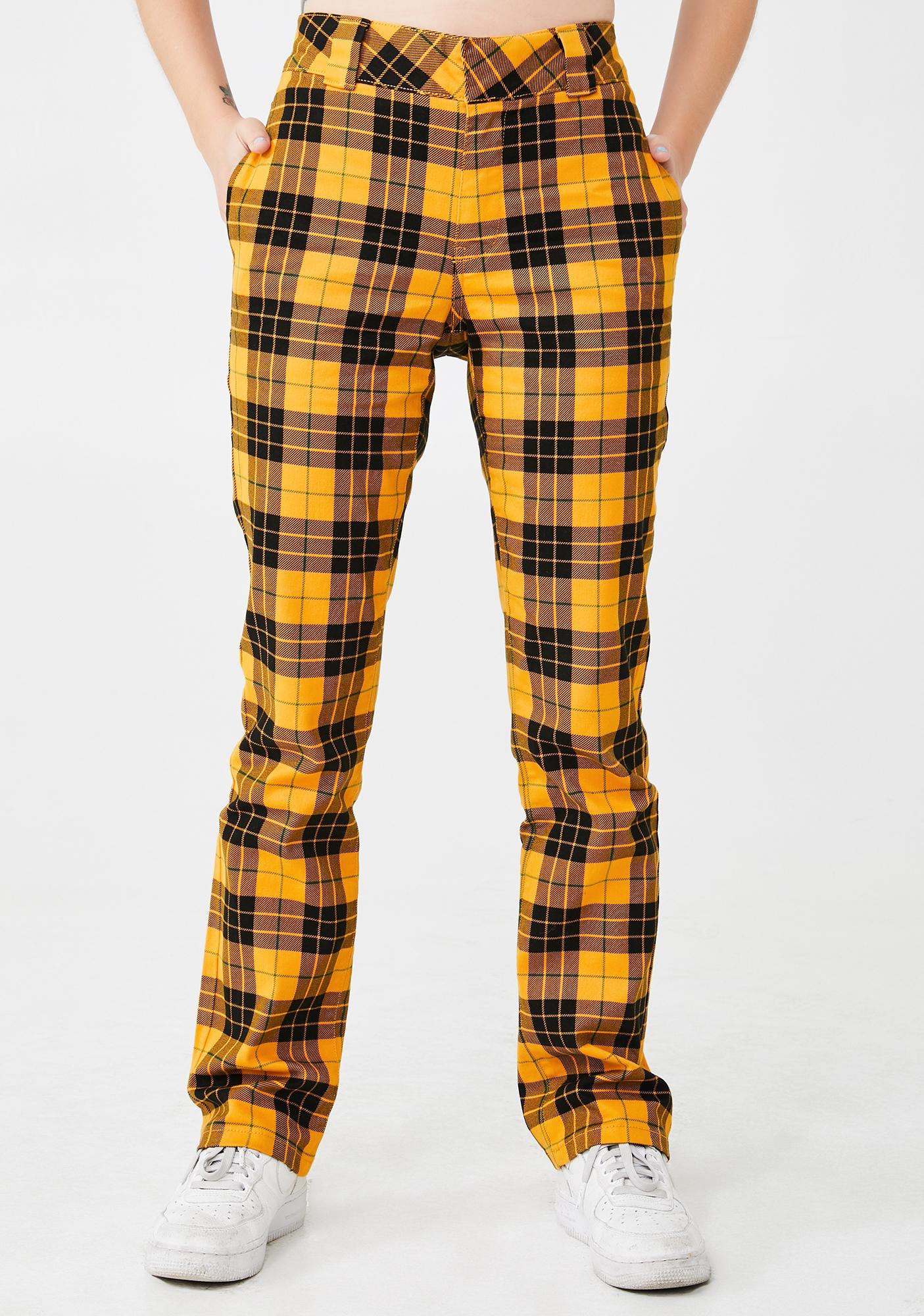 Dickies Girl Mcleod Tartan Stretchy Twill Pants