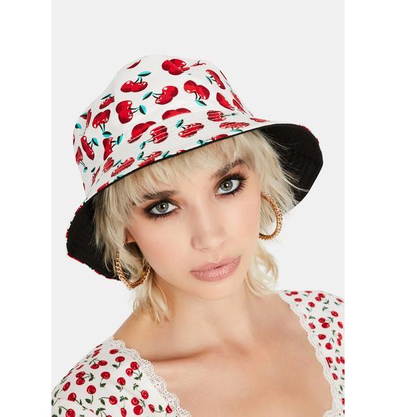 Angel Sweet Inside Reversible Bucket Hat