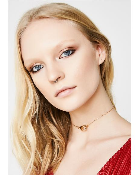 Gold Together Again Choker
