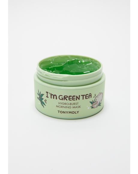 I'm Green Tea Hydro Burst Morning Mask