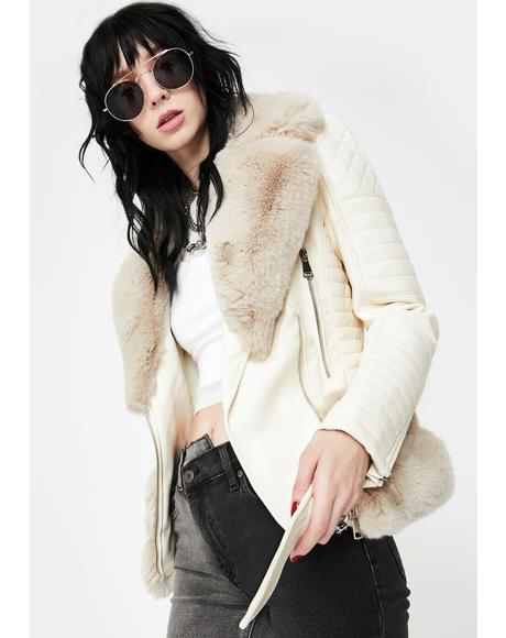 Destiny Faux Fur Jacket
