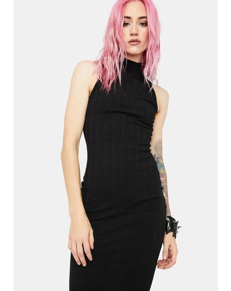 You'll Be Back Tank Midi Dress