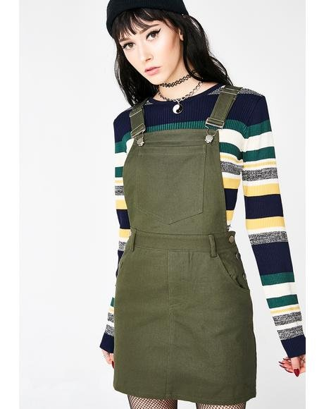 Good Example Overall Dress