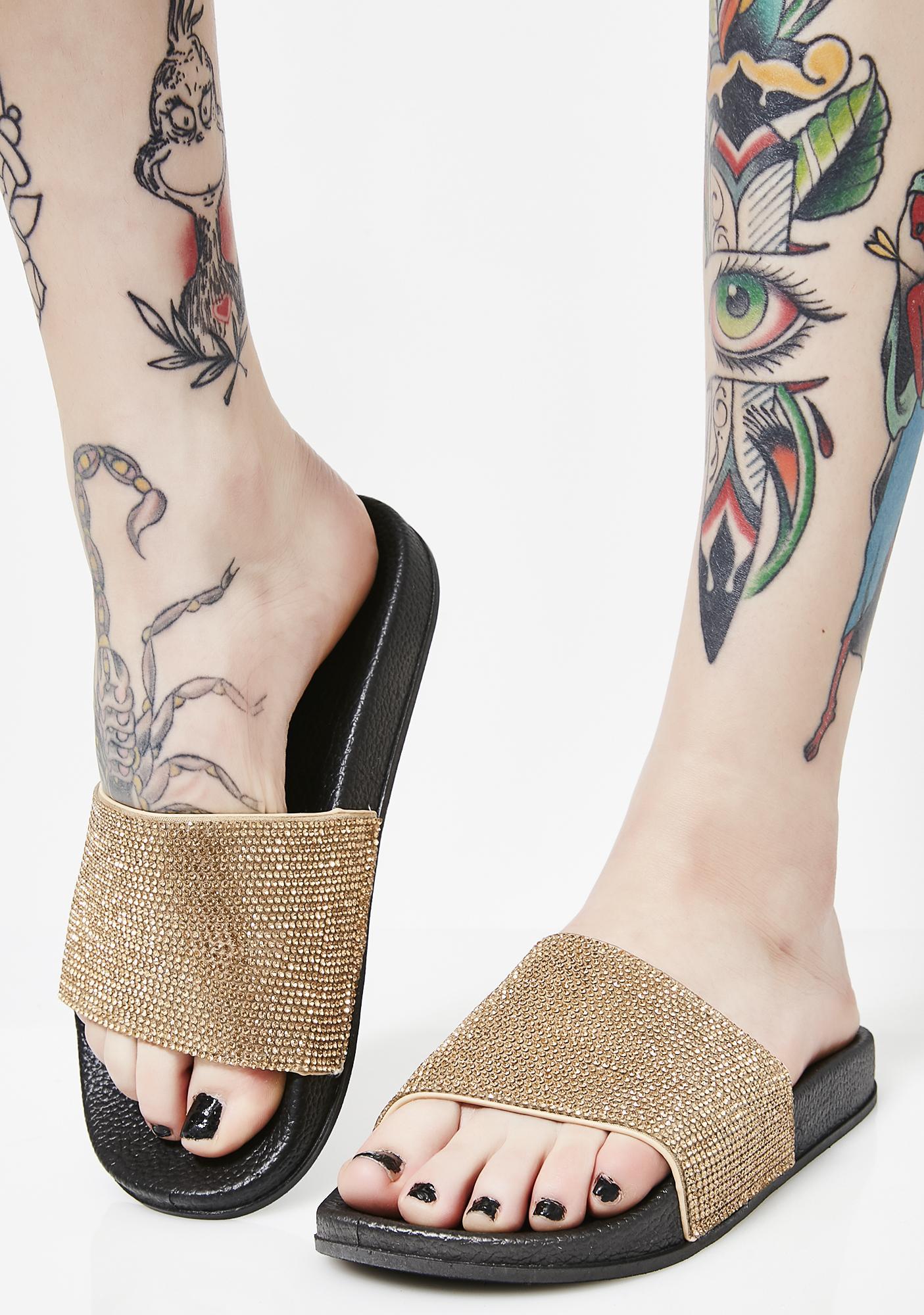 Rose Livin' Lavish Slides