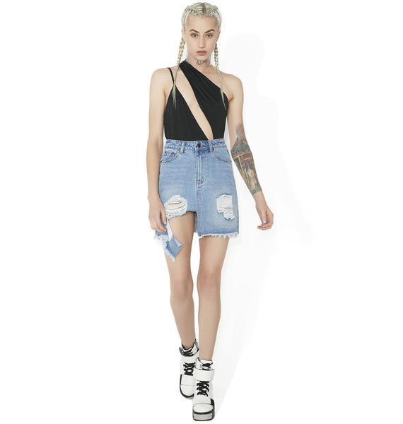 Soul Snatcher Asymmetrical Bodysuit