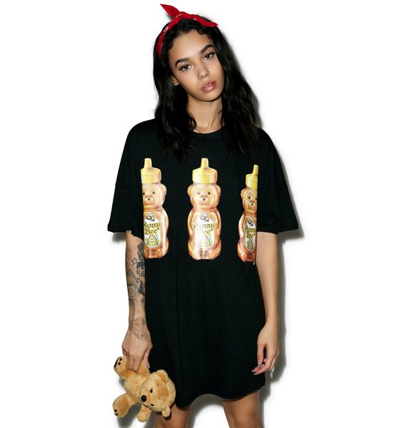 Little Sunny Bite Big Honey Bear Tee Dress