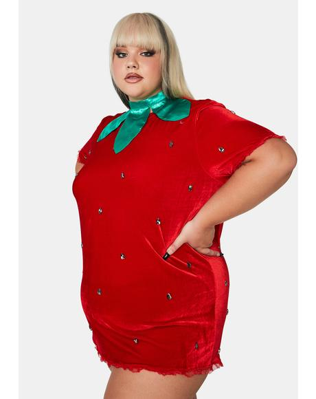 So Berry Delicious Strawberry Costume
