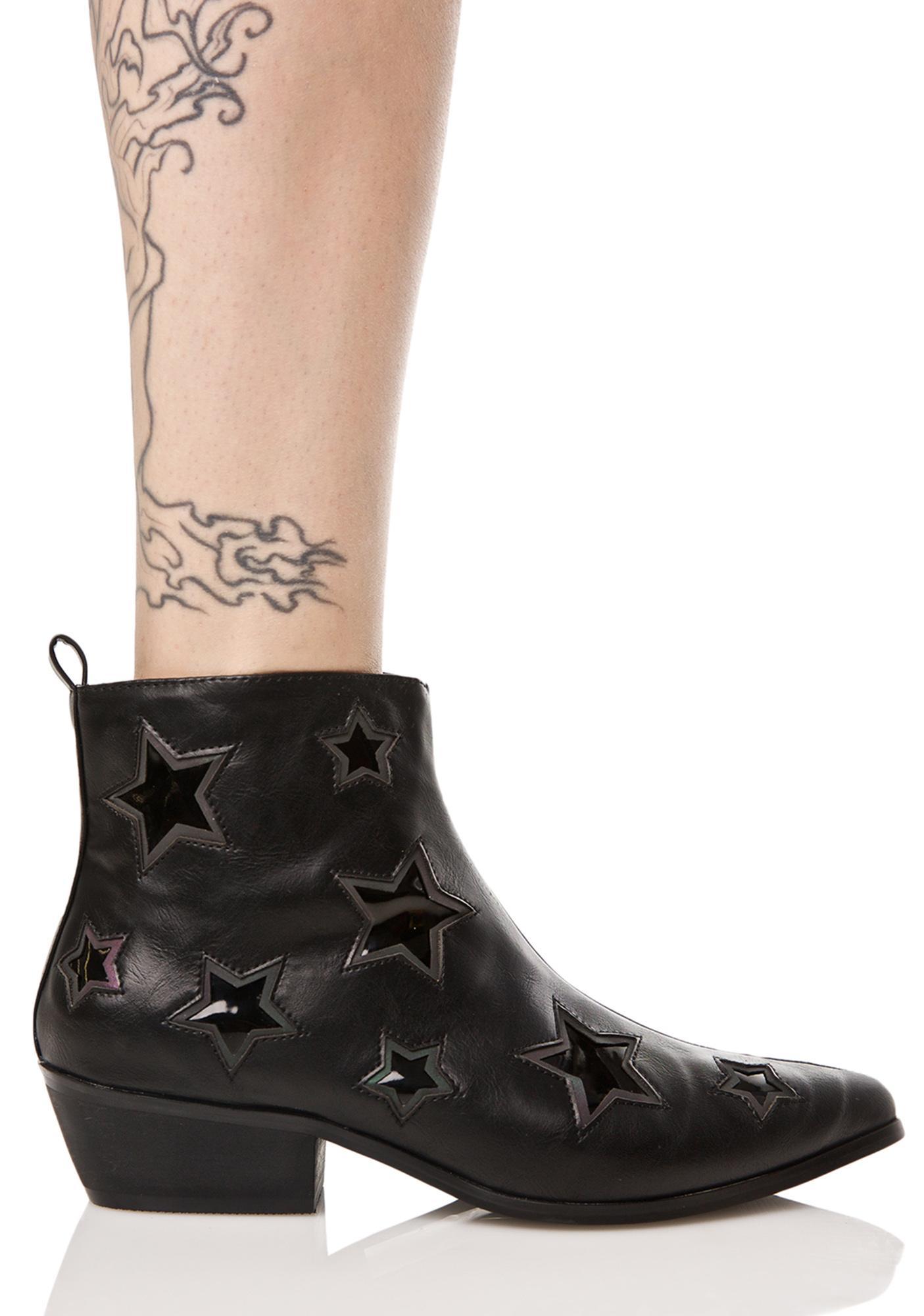 Y.R.U. Laso Stars Reflective Boots