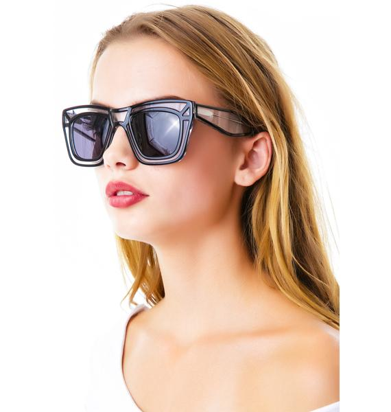 Ksubi Skeleton Sunglasses