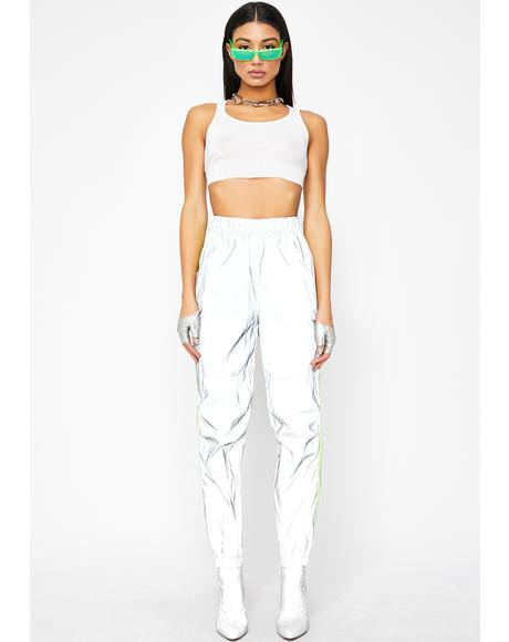 In A Flash Reflective Joggers