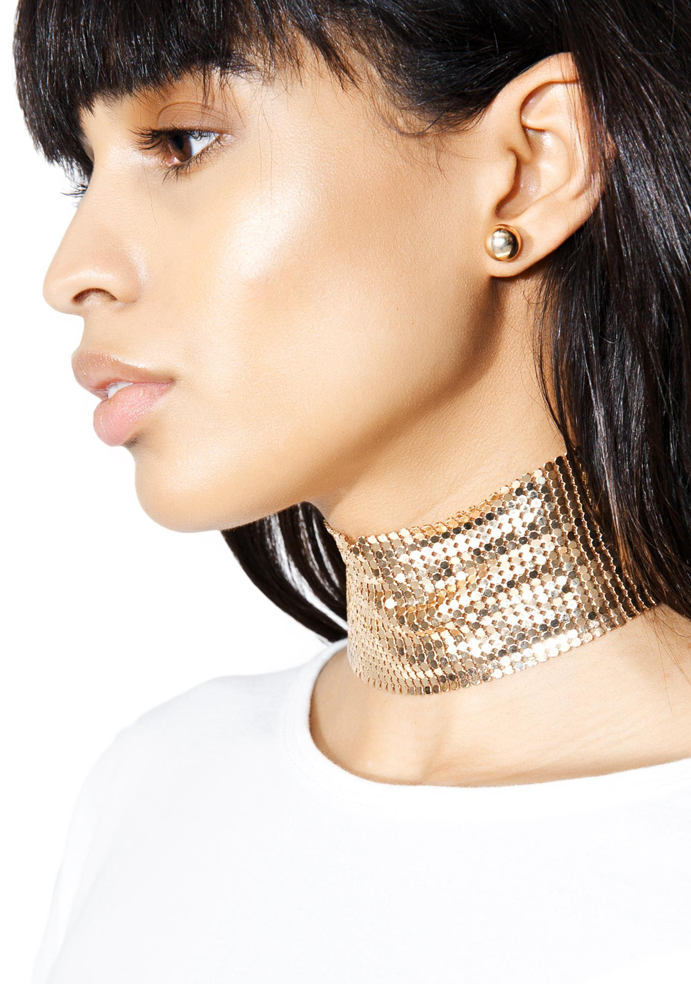 Groove Thing Sparkle Choker Set