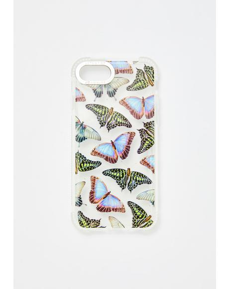 Butterfly House Shock iPhone Case