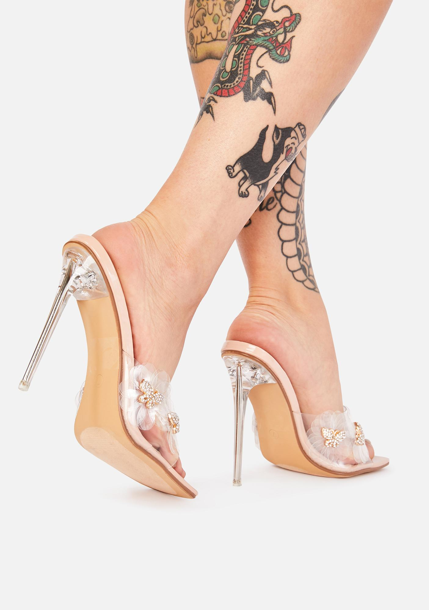 Taking Flight Stiletto Heels