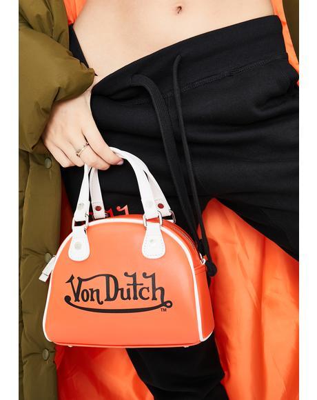 Orange Small Bowling Bag