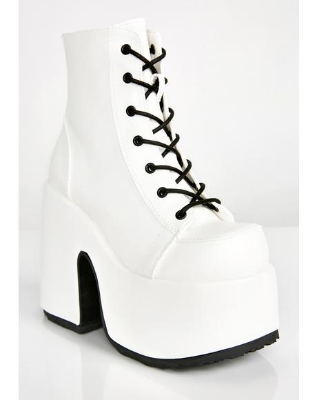 Icy Cold Platform Boots