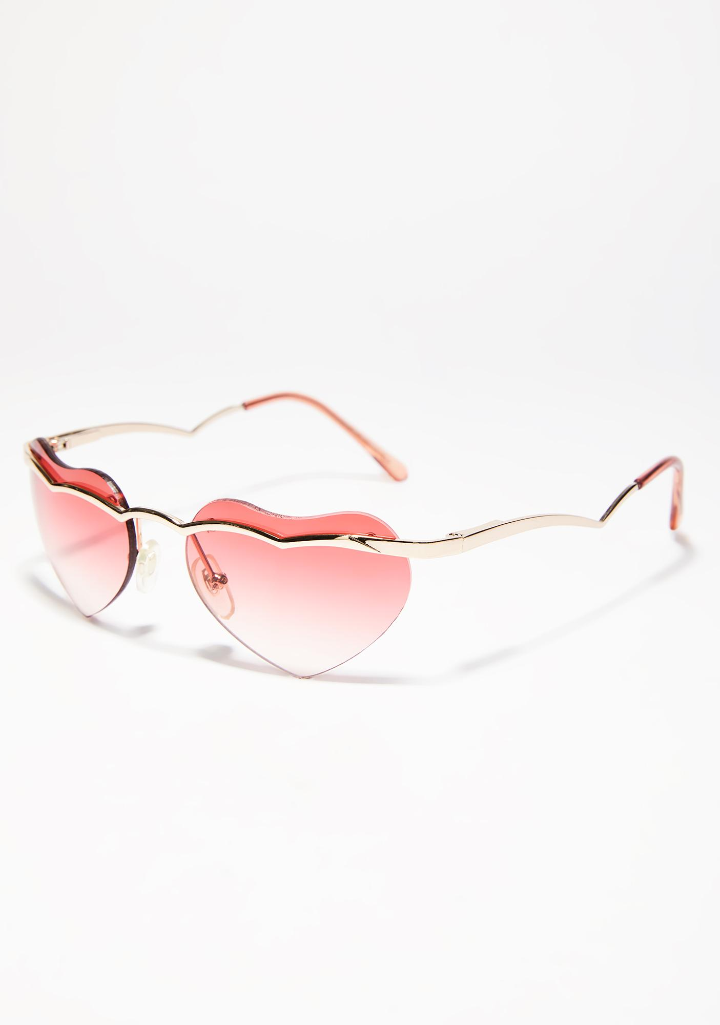 Flaming Cold Heart Sunglasses