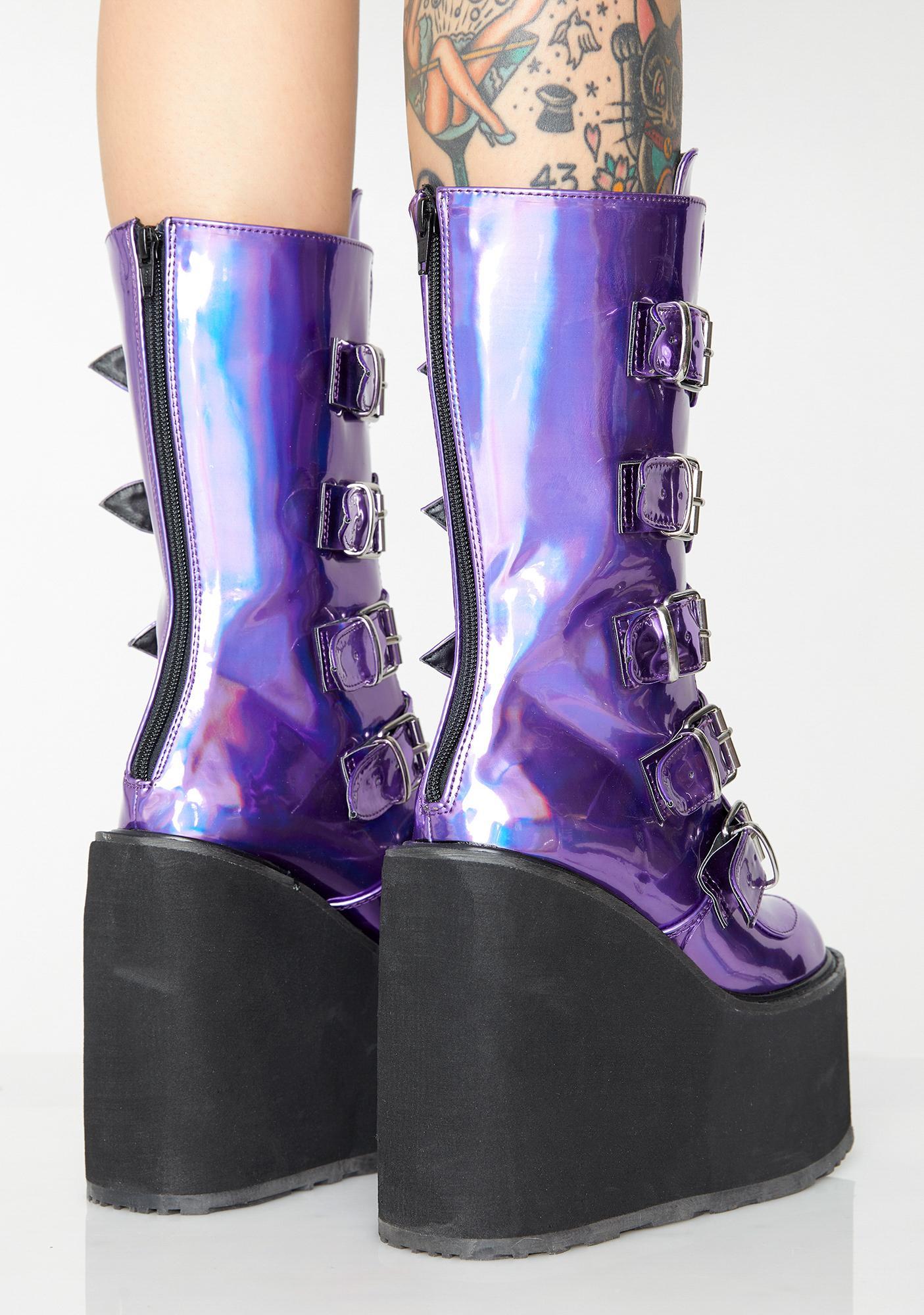 Demonia Fairy Lovesick Trinity Boots