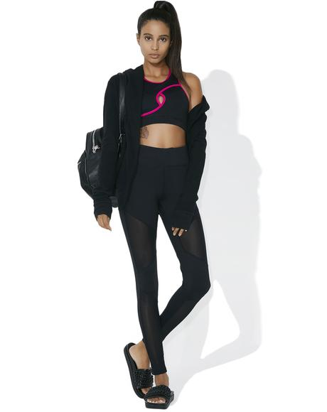 Onyx Feel The Burn Mesh Leggings