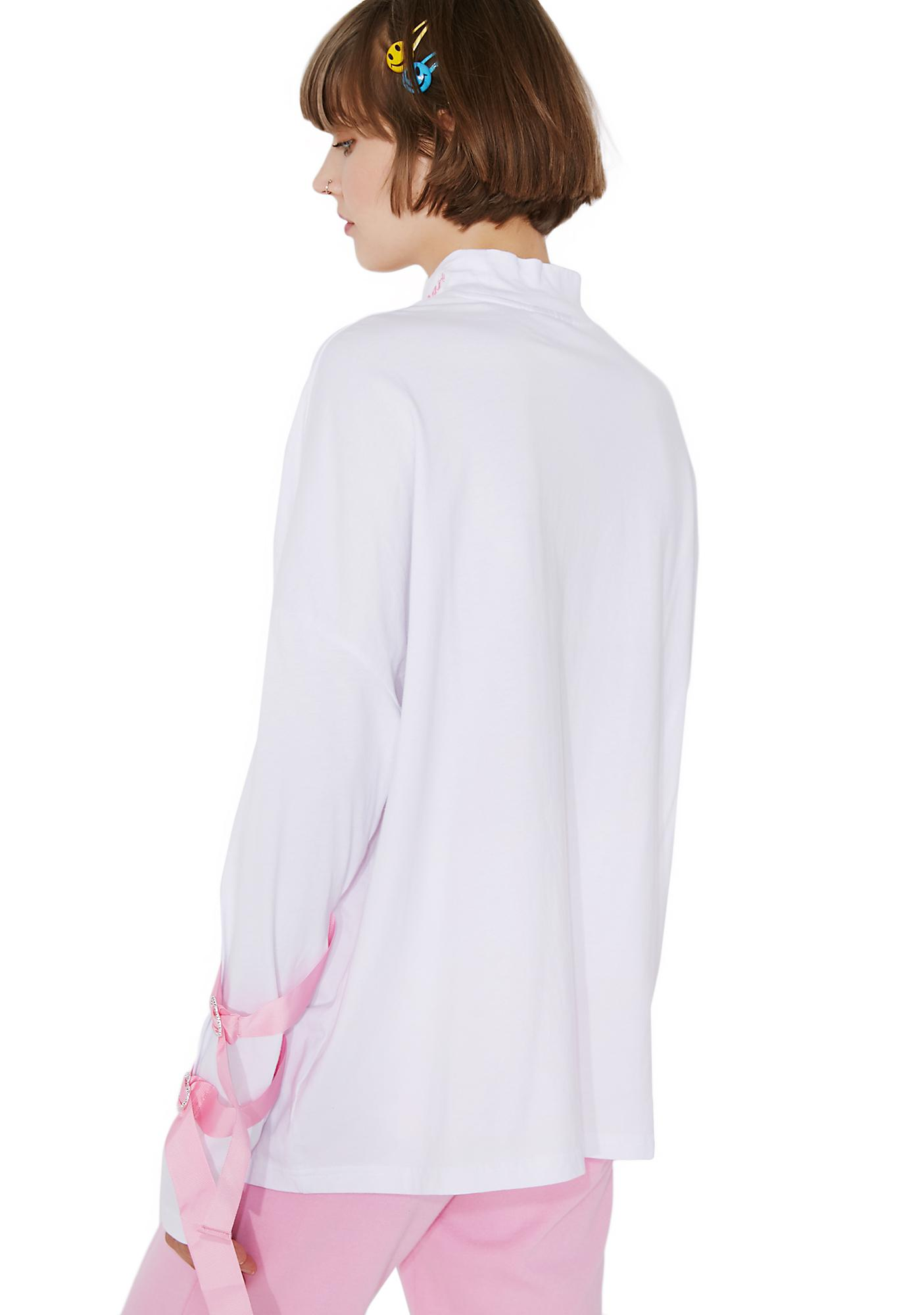 Lazy Oaf Nightmare Tied Up Long Sleeve Shirt