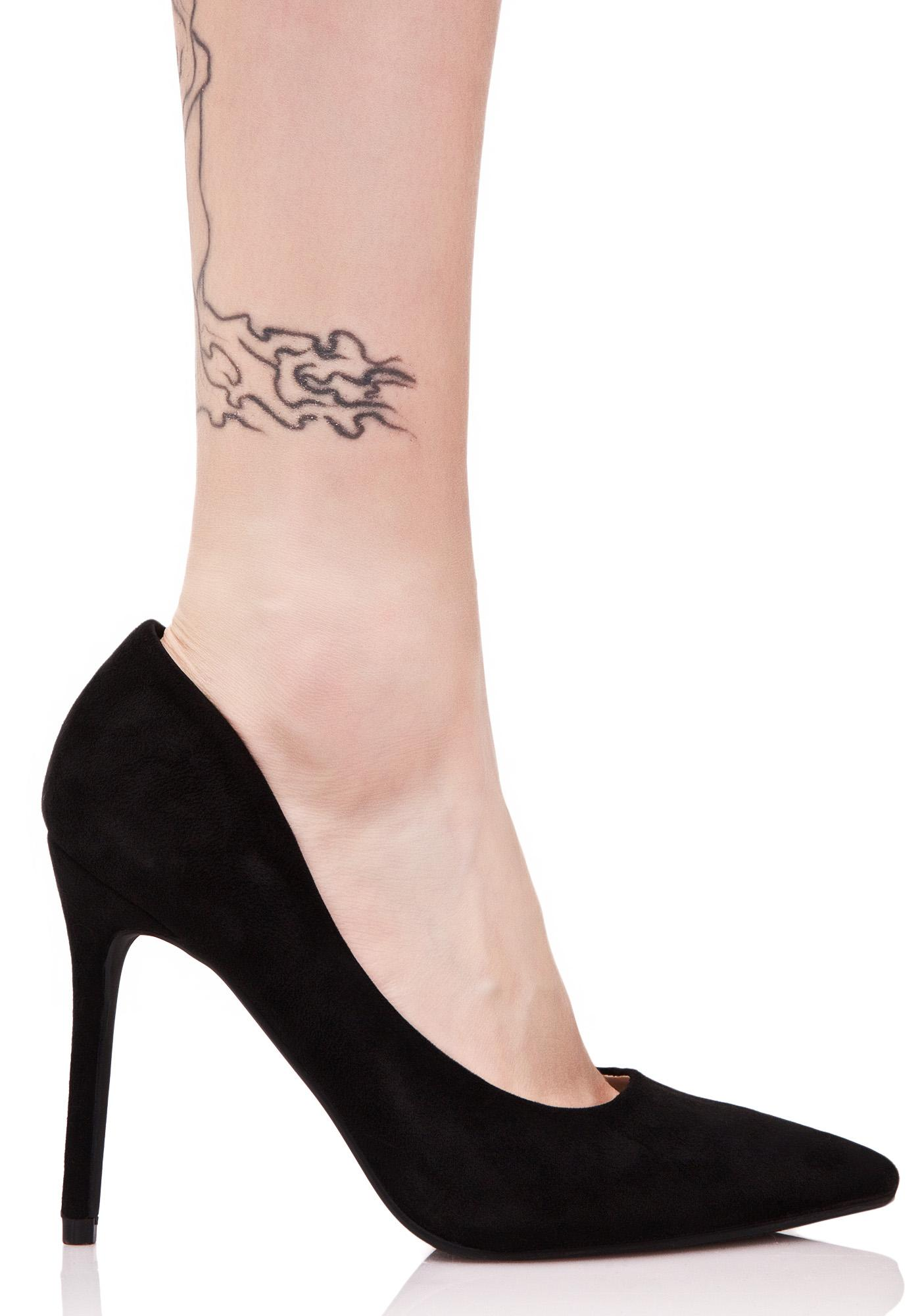 Onyx Power & Glory Heels