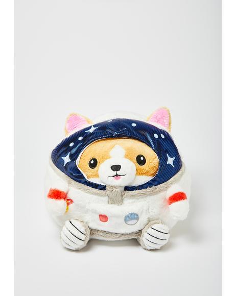 Corgi Astronaut 7 Inch Plushie