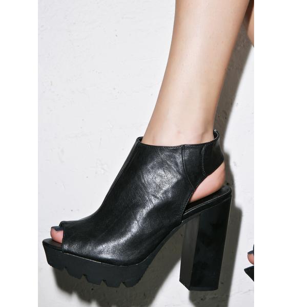 Night Show Slingback Sandals