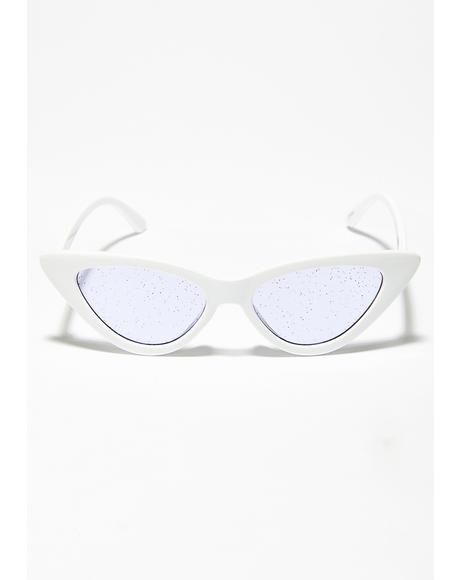 Fairy Glam Kitten Glitter Sunglasses
