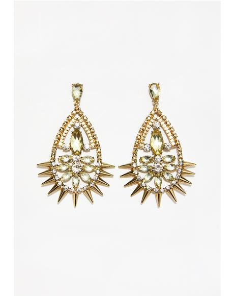 Shocked To See U Teardrop Earrings
