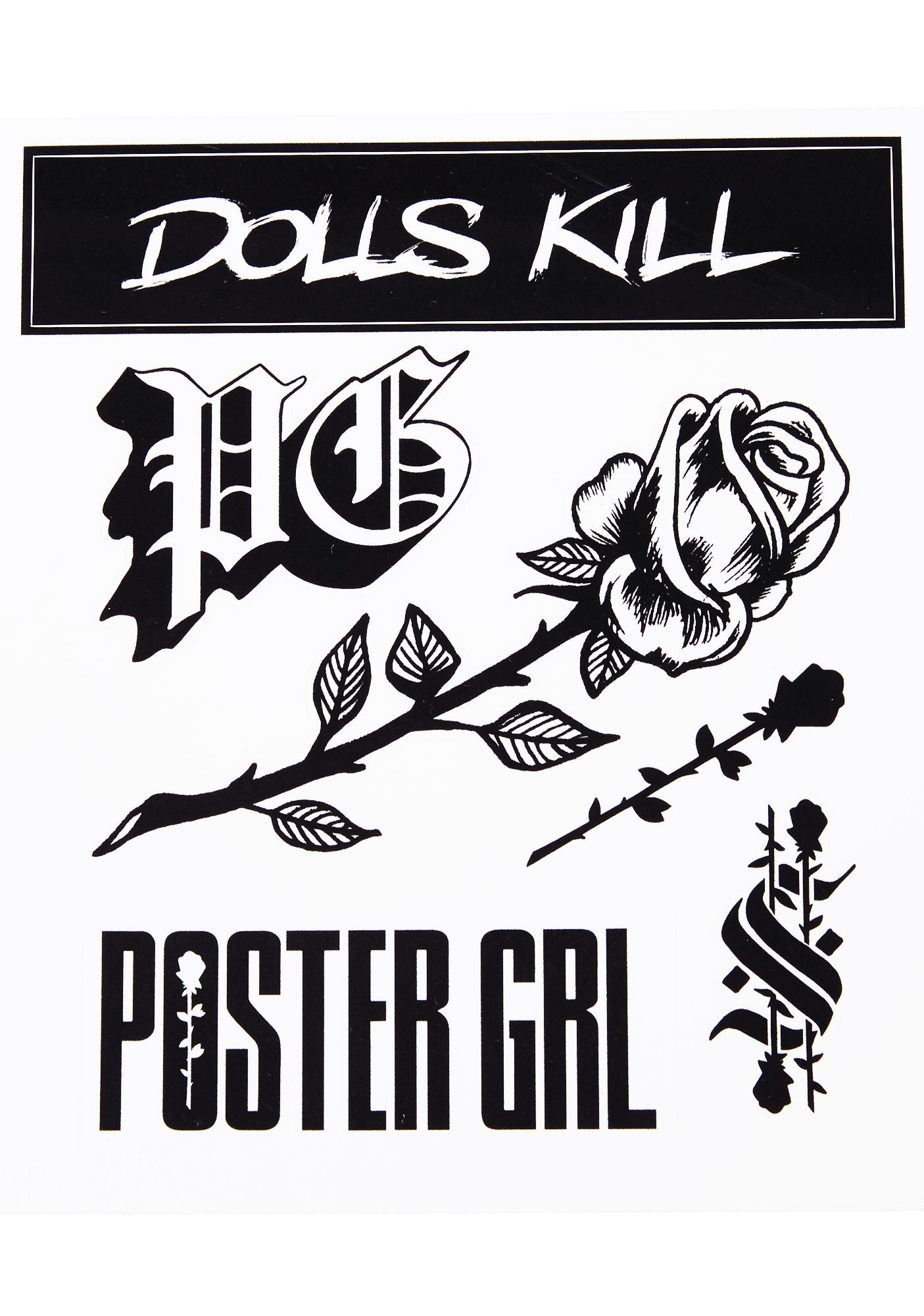Poster Grl Sticker Pack