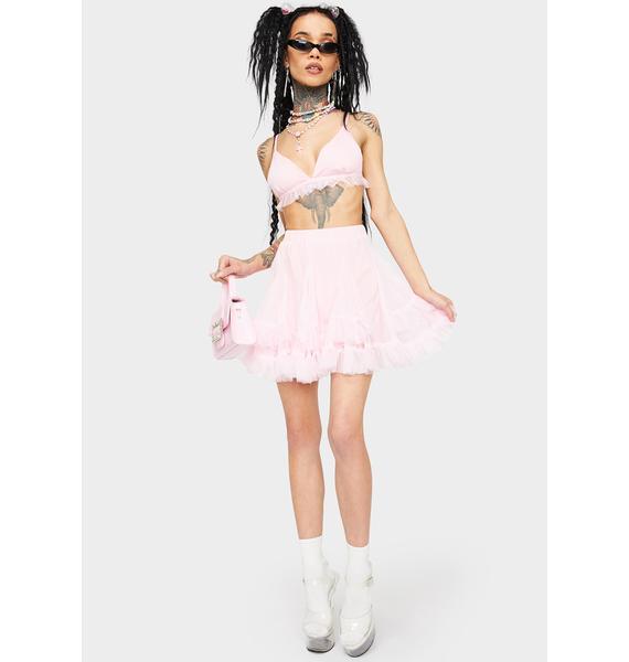 Blush All Puffed Up Skirt Set