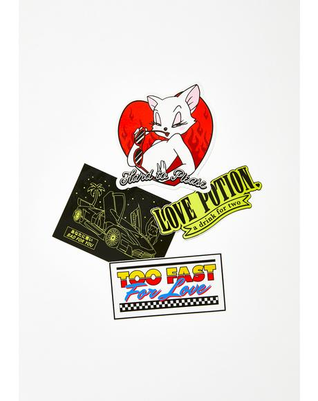 Love Potion Sticker Pack