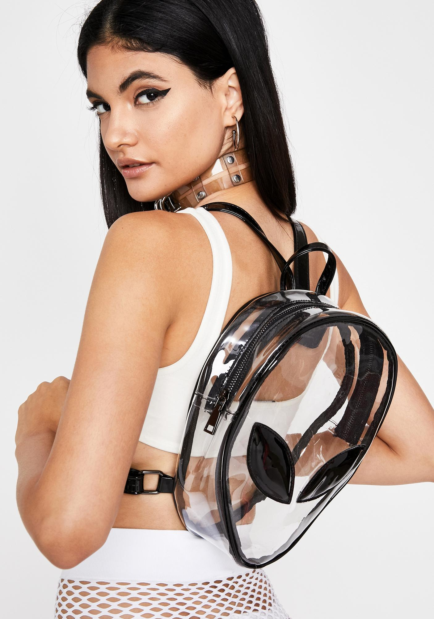 Alien Invasion Clear Backpack