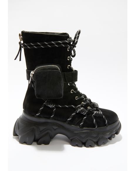 Like A Champ Sneaker Boots