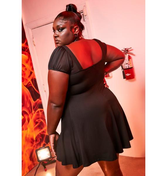 Current Mood I'm Wrecking This Evening Mini Dress