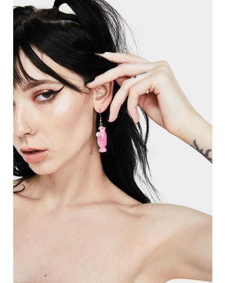 How Many Licks Drop Earrings