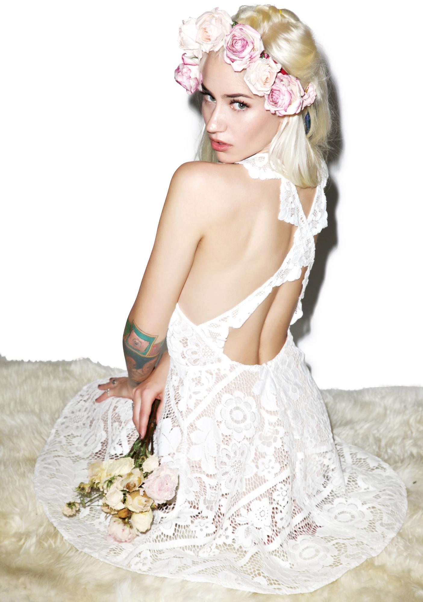 For Love & Lemons Gianna Apron Dress