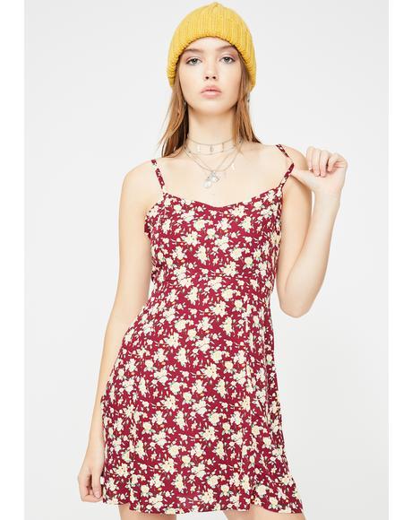 Yandra Floral Dress