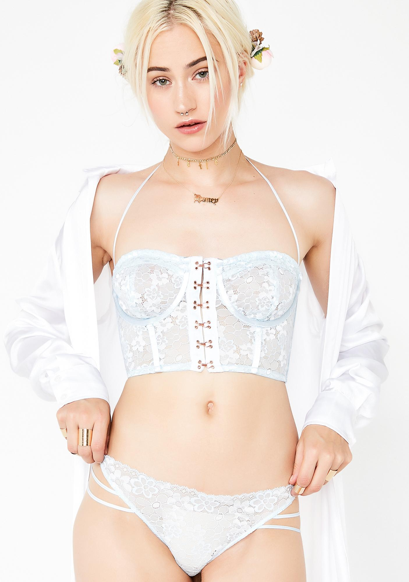 Ethereal Visions Strappy Thong