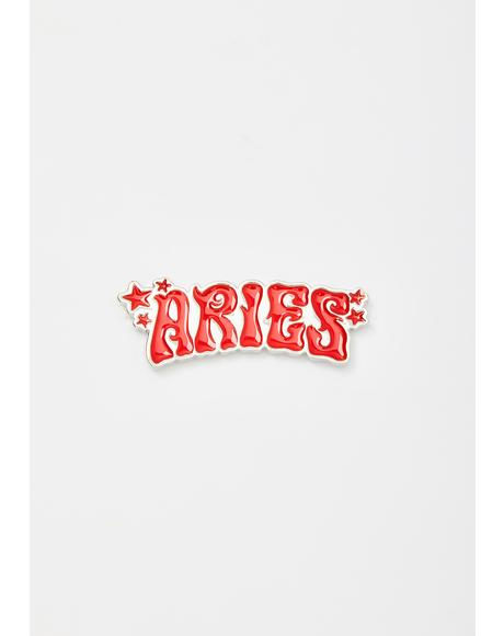 Always Aries Enamel Pin