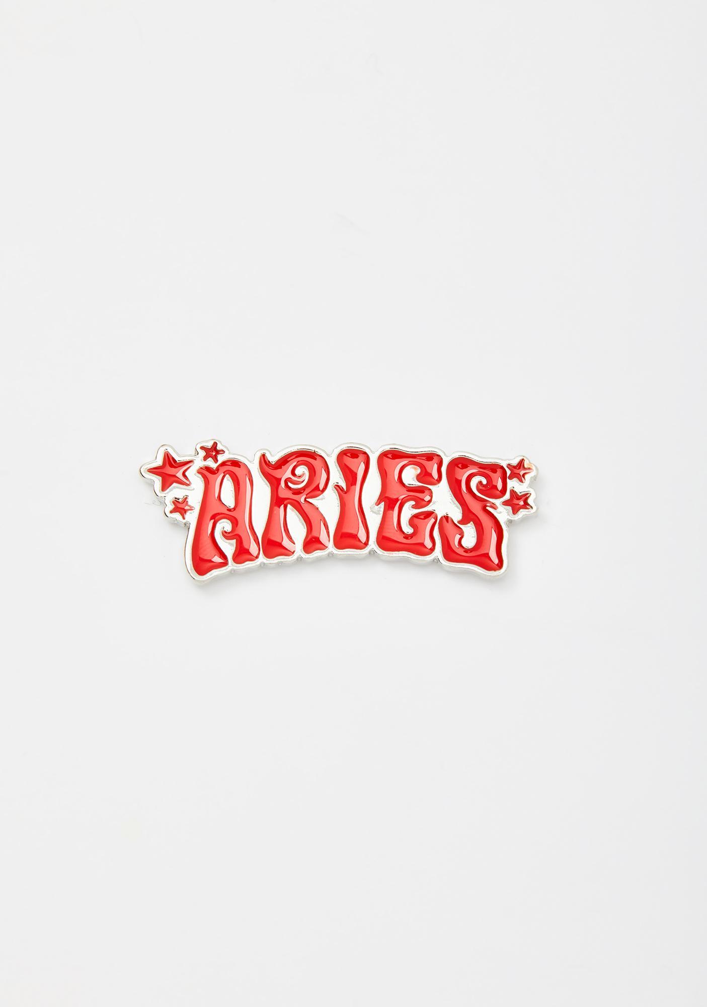 HOROSCOPEZ Always Aries Enamel Pin